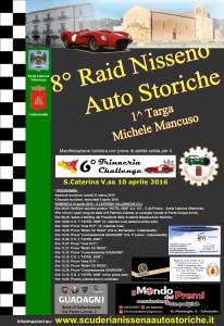 Locandina Raid Nisseno 2016 con programma